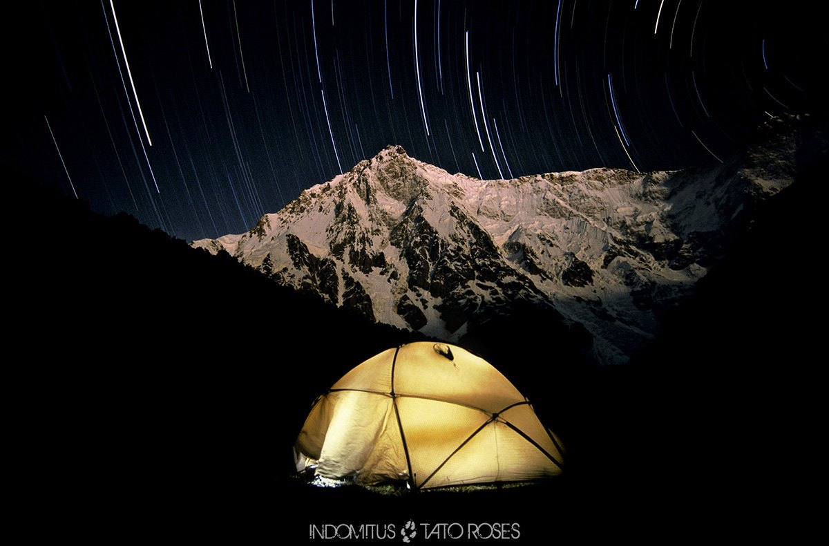 (Pakistán) 113 Mi tienda, Nanga Parbat (8126m), CB Herrligkoffer